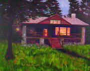 Cottage at Dusk